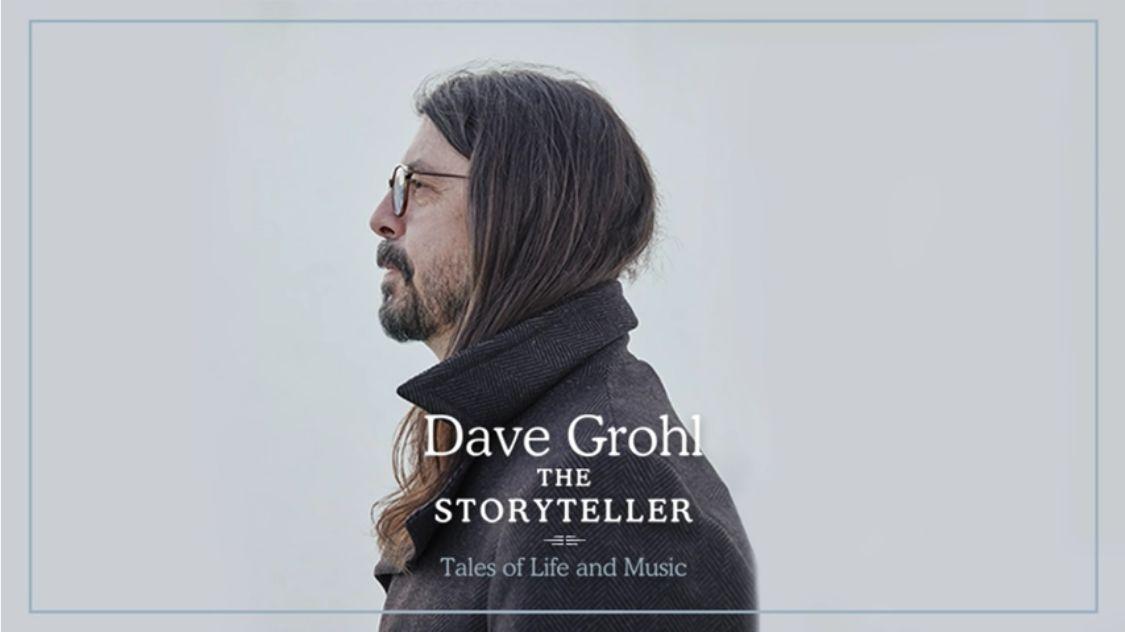 "FOO FIGHTERS: in arrivo il suo primo libro ""The Storyteller"""