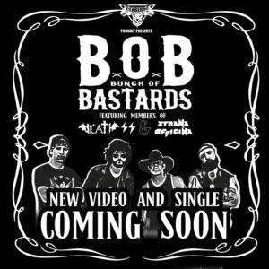 B.O.B. (BUNCH OF BASTARDS): nuova band con membri di DEATH SS e STRANA OFFICINA