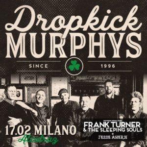 I Dropkick Murphys il 17 Febbraio all'Alcatraz di Milano, tutte le info