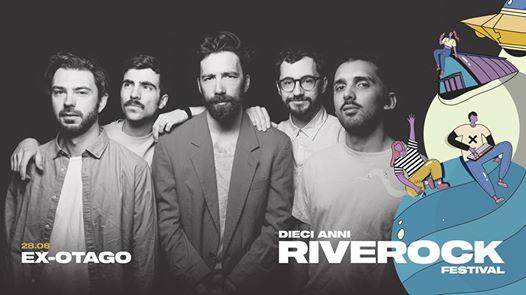 Il 28 giugno gli Ex-Otago in concerto al Riverock Festival