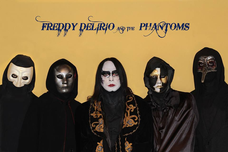 Leynir Fest: Freddy Delirio and the Phantoms + Guests  in concerto al The One Metal Live!