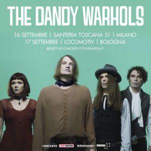 THE DANDY WARHOLS due date in Italia a settembre