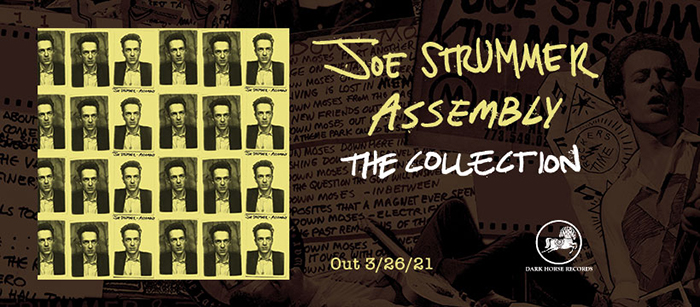 """JOE STRUMMER: Dark Horse Records celebra la nuova raccolta dedicata all'artista con l'inedito """"Junco Partner"""""""