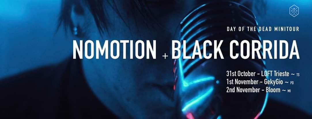 Nomotion e Black Corrida: mini tour insieme