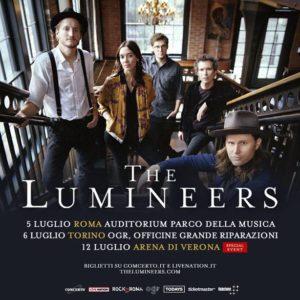 THE LUMINEERS: due date estive in arrivo!