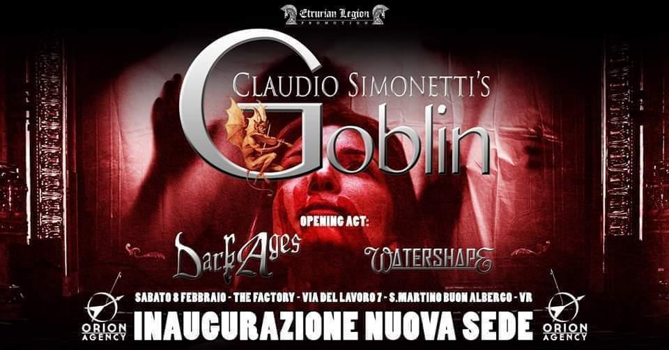Claudio Simonetti's Goblin -08 Febbraio Inaugurazione nuova sede TheFactory