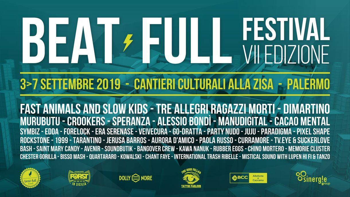 BEAT FULL Festival VII Edizione a Palermo!