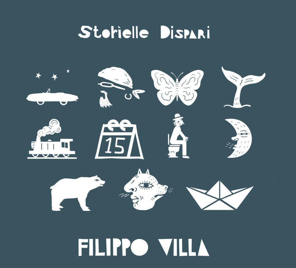 Filippo Villa - Storielle Dispari (Autoproduzione, 2019) di Mr. Wolf