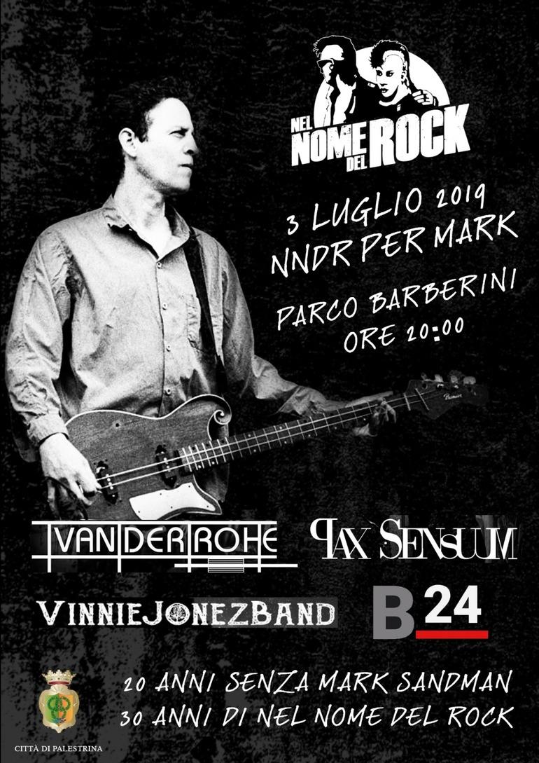 NEL NOME DEL ROCK: tributo in programma per i 30 di Festival ed i 20 dalla scomparsa di Mark Sandman