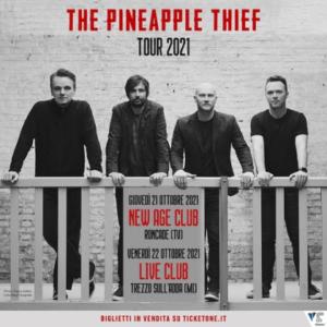 The Pineapple Thief: due date in Italia nel 2021